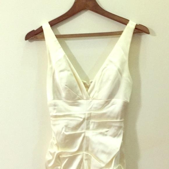Cache Dresses & Skirts - Cream colored short formal dress